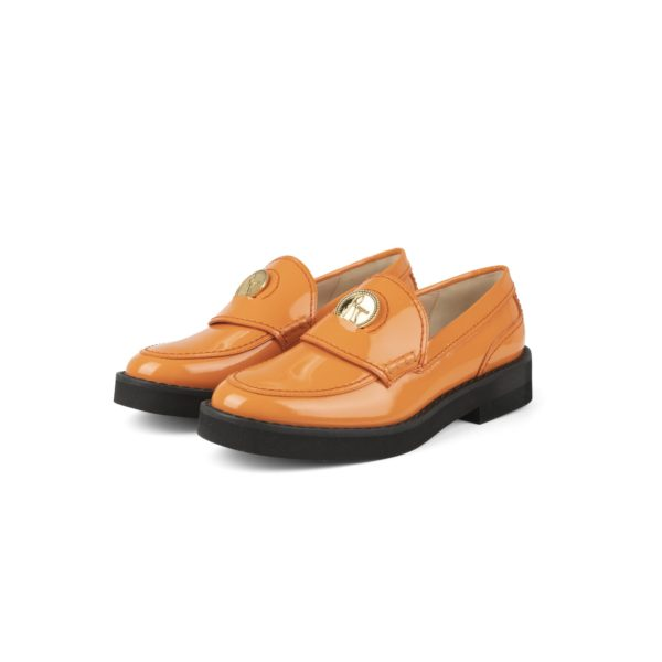 RAYNE EMBOSSED COIN TRIM LOAFER