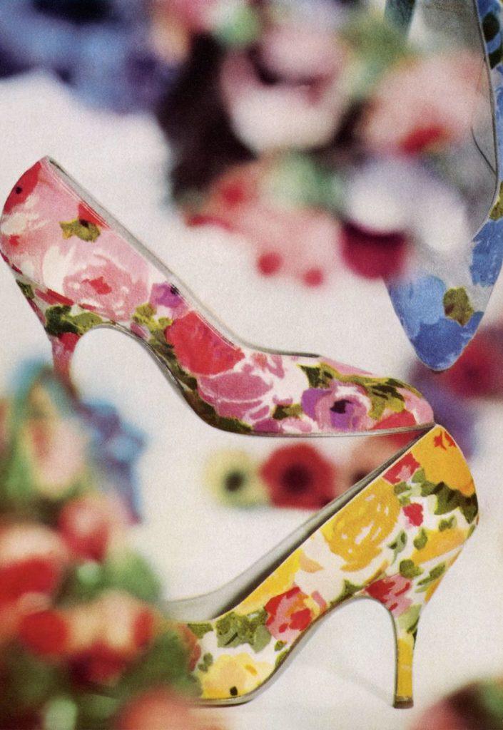 Rayne Shoes floreal