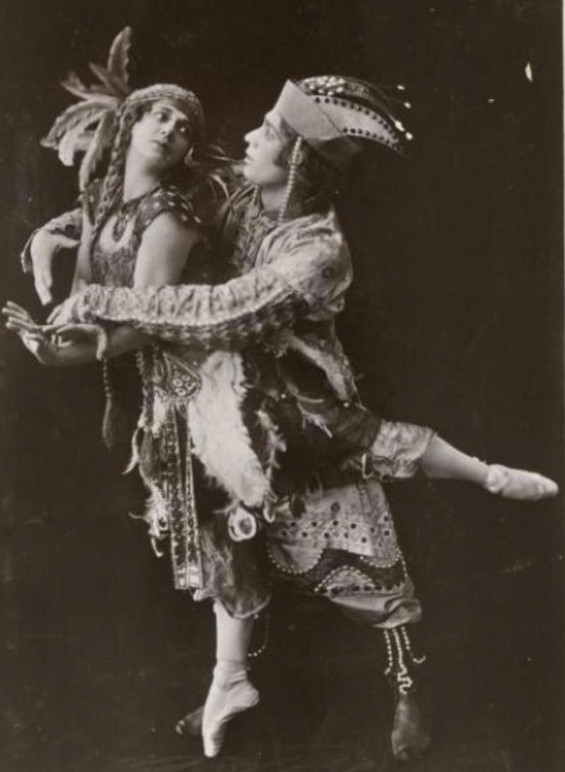 Rayne supplies costumes & shoes to Diaghilev's Ballet Russe.