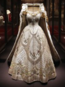 Queen Elizabeth Elizabeth wears Rayne shoes at her Coronation in Westminster Abbey